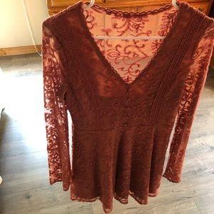 Fall Lace Dress
